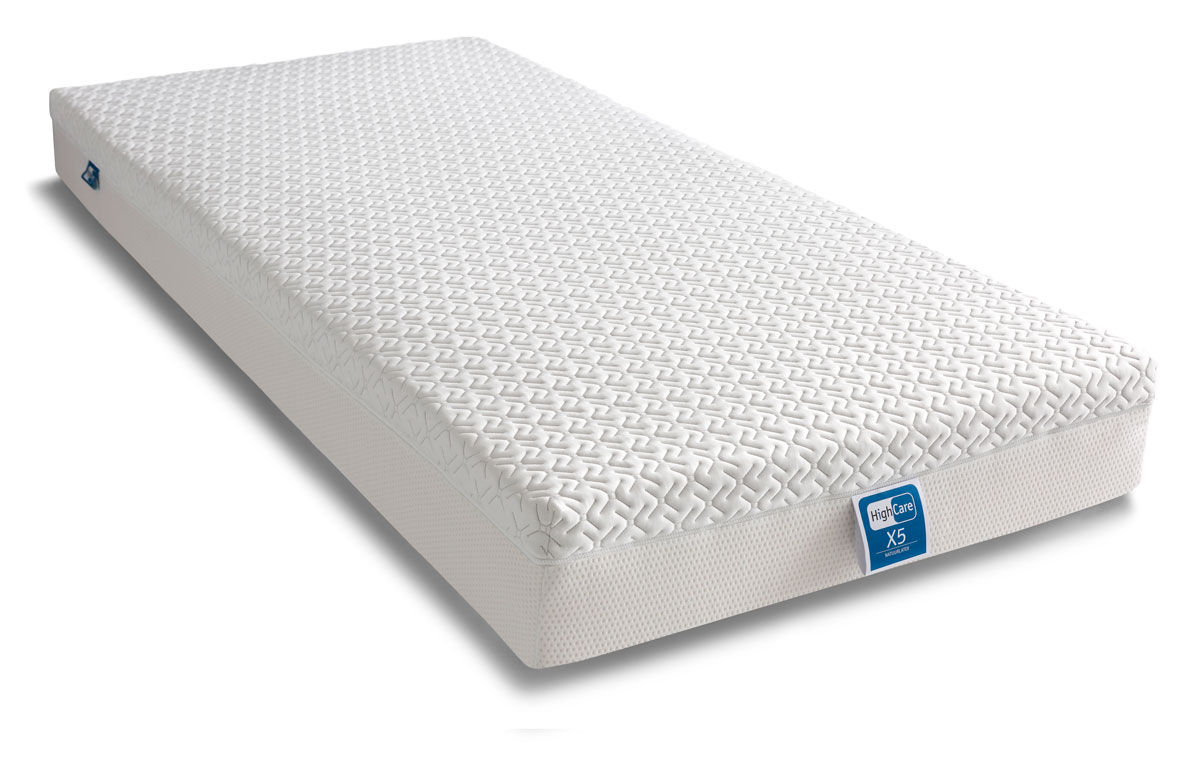 HighCare X5 Natuurlatex matras, 21cm dik, Triple Layer